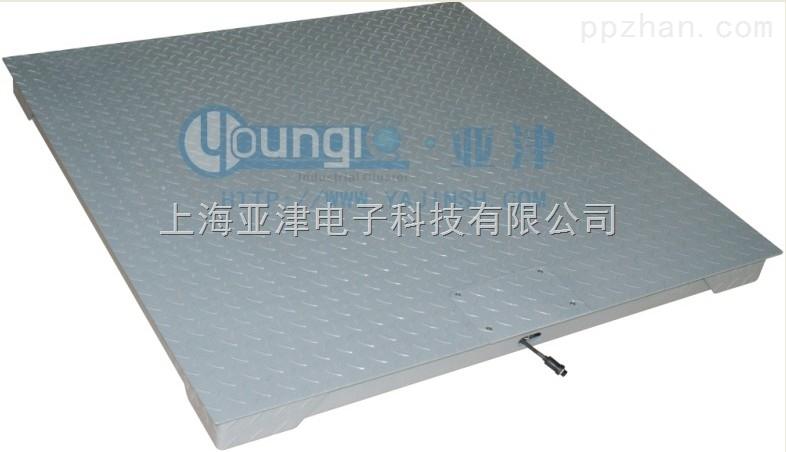 上海单层电子地磅P771A-2T单层平台秤供应?