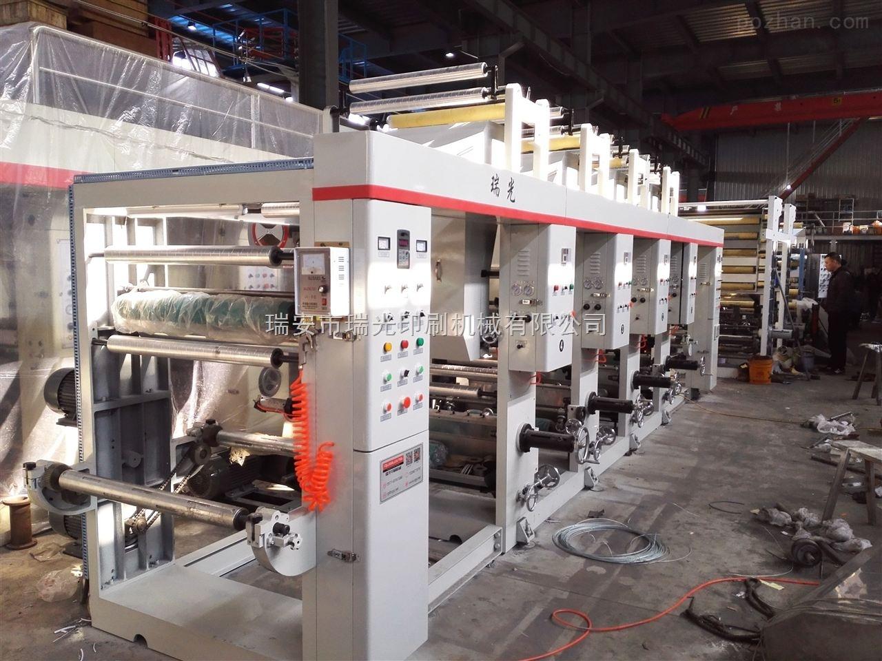 ASY-800型6色-供应卷筒纸印刷机厂家