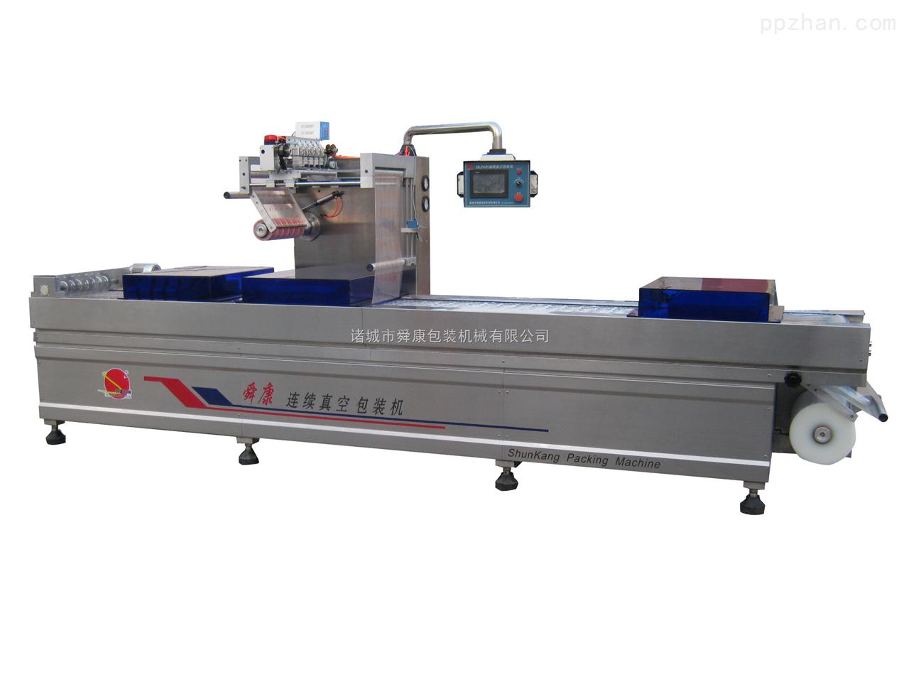 DLZ420-舜康DLZ420连续拉伸膜藕片真空包装机