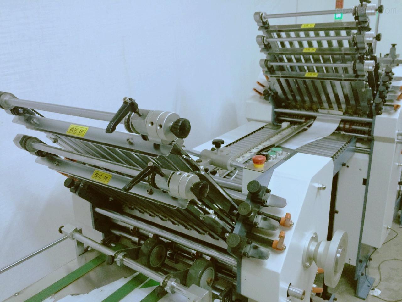 栅栏式折页机