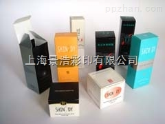 350克白卡纸化妆品纸盒 纸包装合印刷  景浩彩印公司