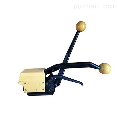 A333手动钢带免扣打包机,手动免扣捆扎机