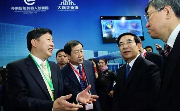 """中國制造""""智""""高點 北人亦創園亮相2015世界機器人大會"""