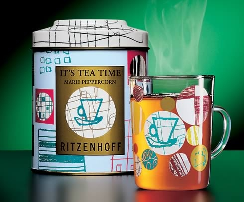 一组精美的国外茶包装设计欣赏