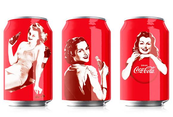 可口可乐包装大合集