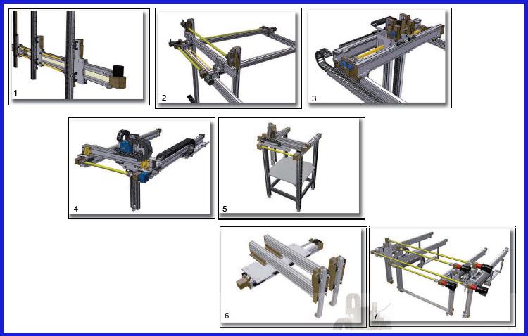 机械手传动系统结构简图