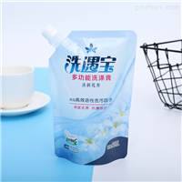 洗衣液包装袋液体自立吸嘴袋东莞聚嵘包装